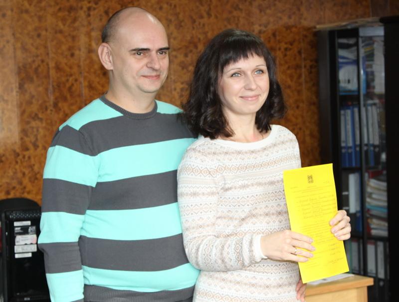 5 многодетных семей Брянска получили сертификаты нажильё
