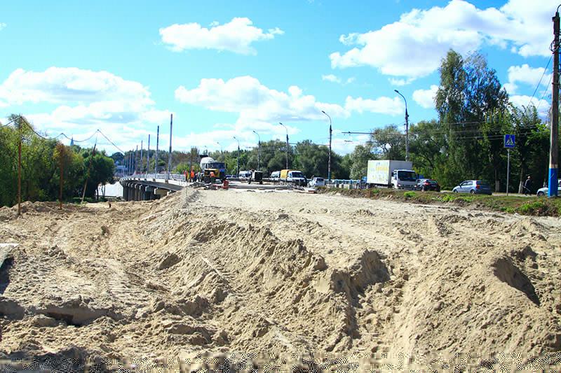 Соктября вБрянске начнут асфальтировать новый Первомайский мост
